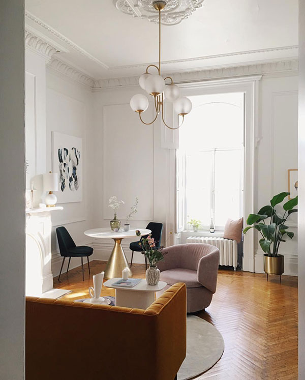 Décor Inspiration | From Instagram: A Chic Apartment in Old Montreal