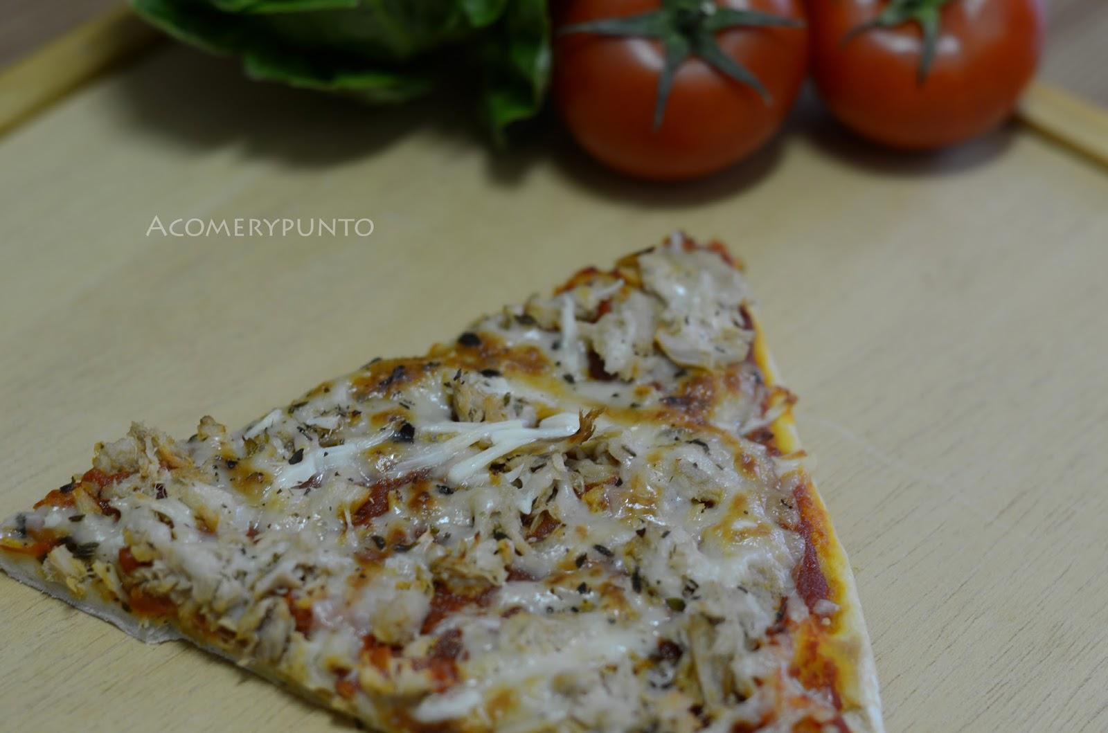 receta casera para hacer masa de pizza sin levadura
