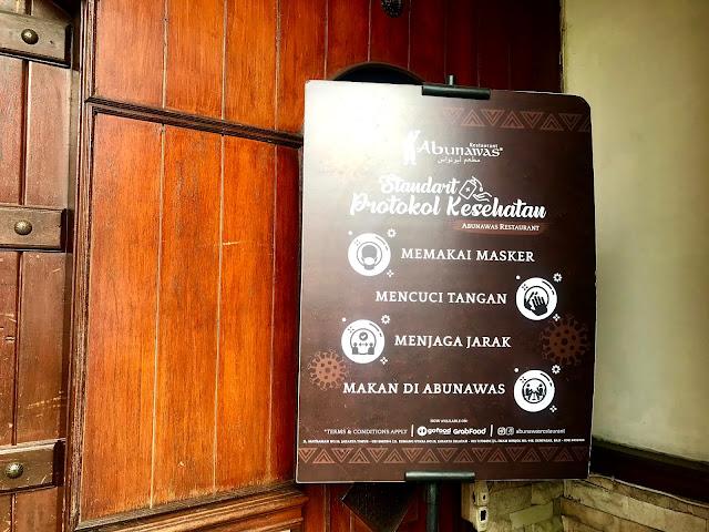 Abunawas Restaurant, Jakarta