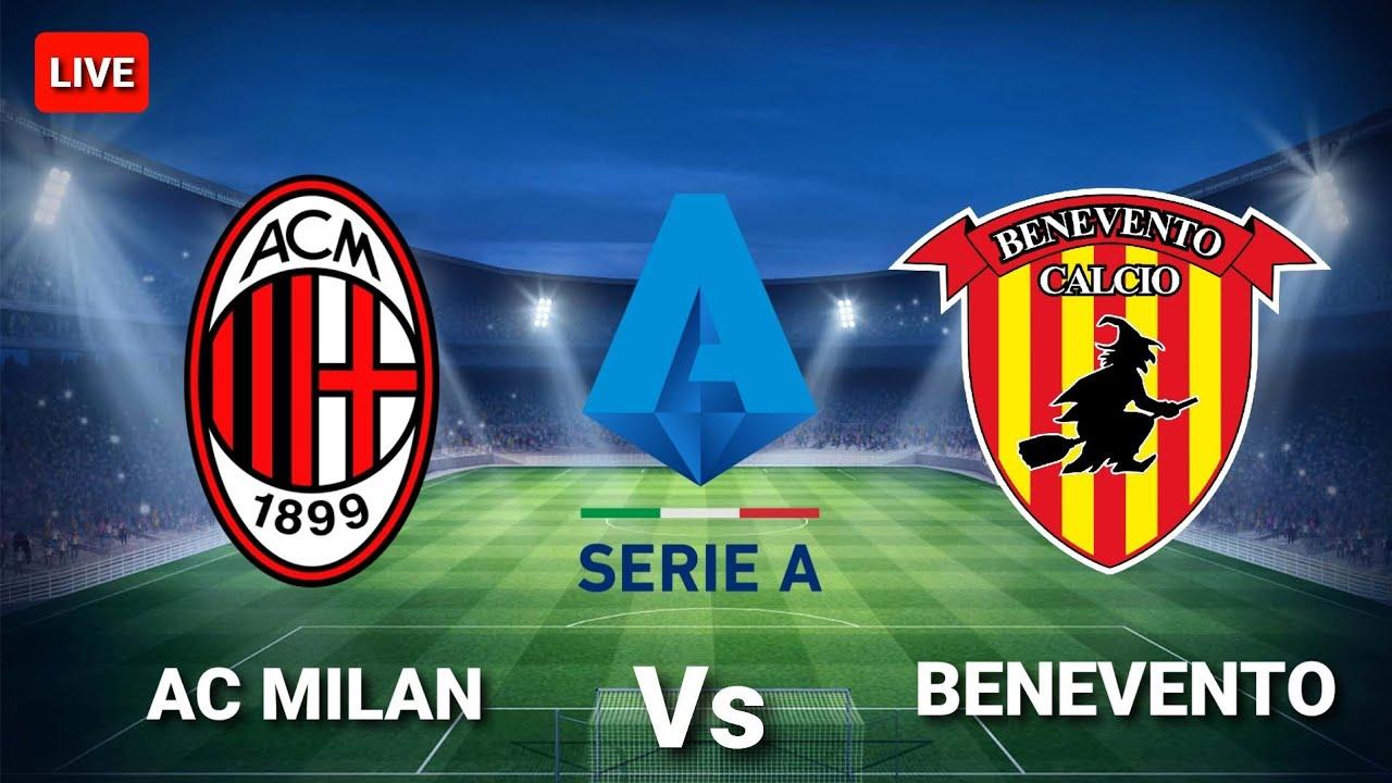 مشاهدة مباراة ميلان ضد بينفينتو 01-05-2021 بث مباشر في الدوري الايطالي