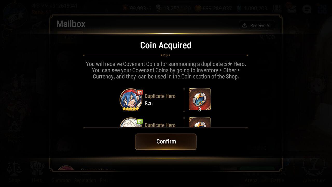 Epic Seven Heroes Exchange