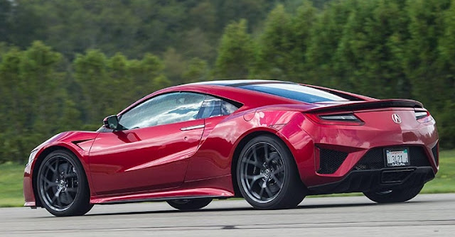 2017 Review Acura NSX Hybrid Is the Friendly Supercar