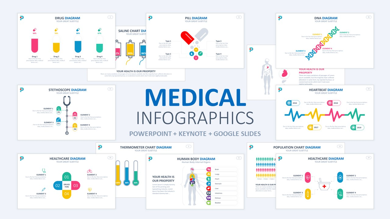 Medical & Healthcare Infographics