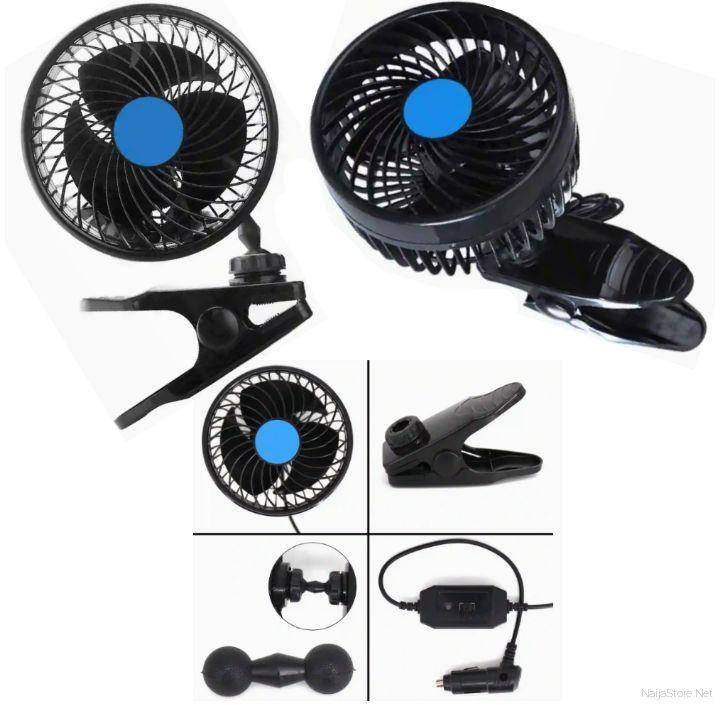 Mini Vehicle Cooling Fan with Clamp - Gardwen