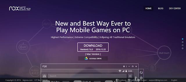Cara Mudah Menggunakan Instagram di Laptop dengan Emulator Nox