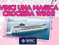 Logo Vinci una Crociera Winx con Mondadori Store per 4 persone