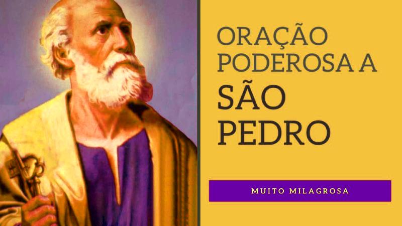 Oração de São Pedro Apóstolo