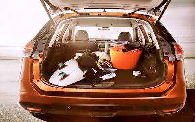 Gambar Ruang Bagasi Nissan X-Trail