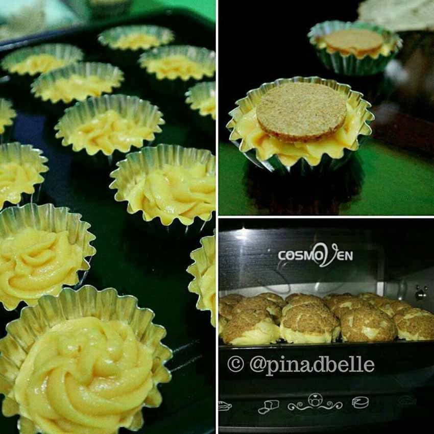 Resep Sus Tiger Ala Pak Sahak, Isi Vanilla Chocolate Dengan Whipped Cream