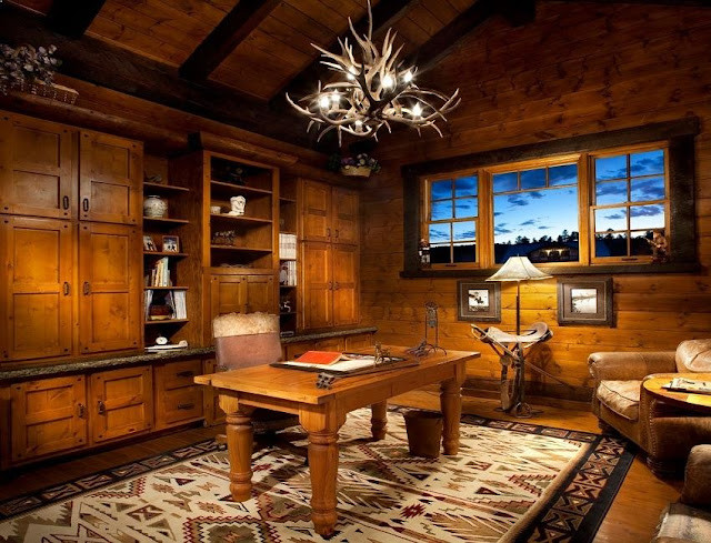 best rustic wooden office furniture sets with file cabinets lighting decor ideas