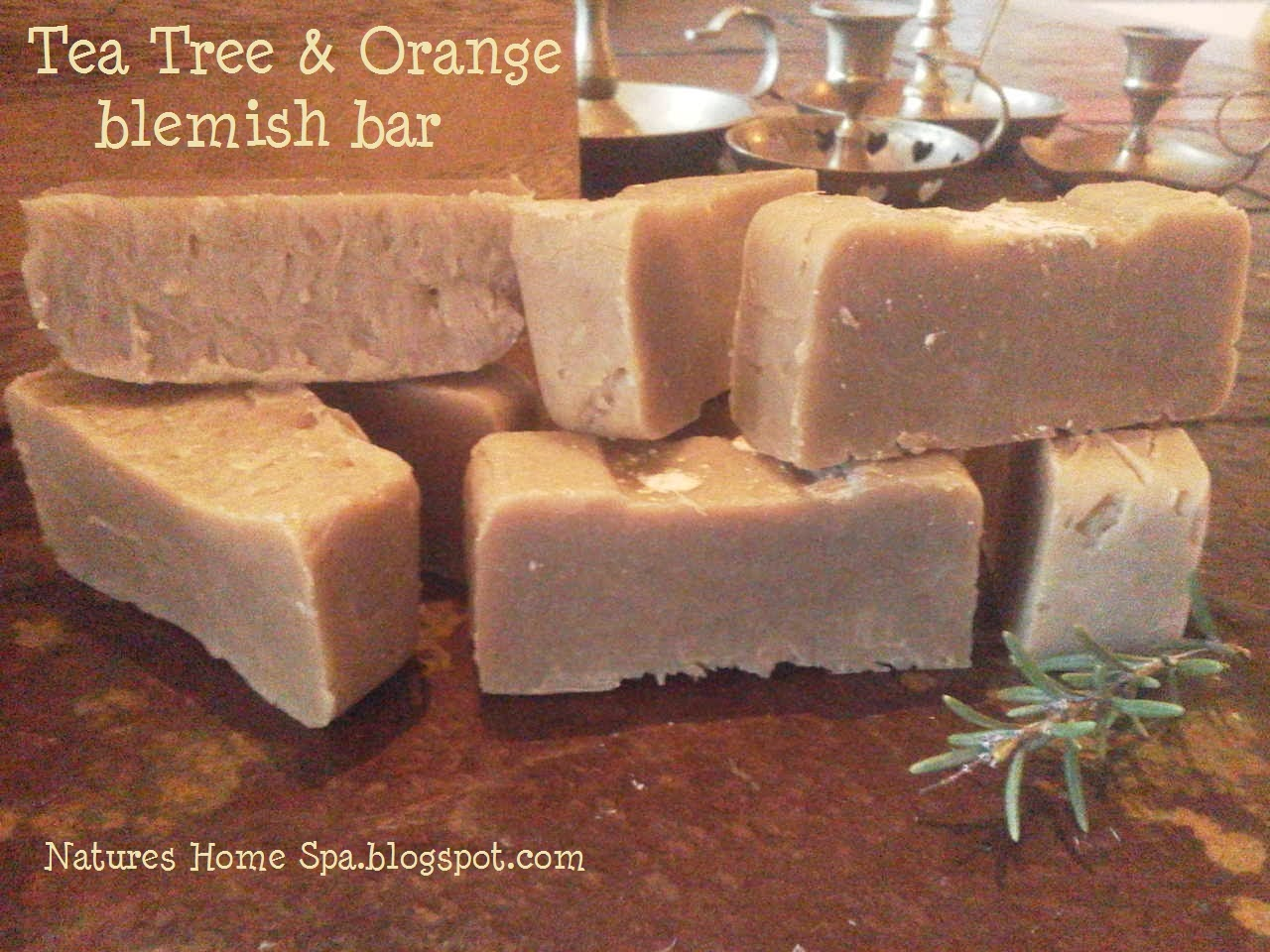 Diy Soap Without Glycerin Natures Home Spa Tea Tree And Orange Soap Acne And