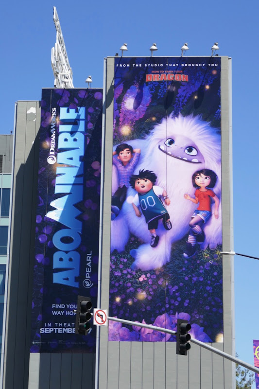 Abominable movie billboard