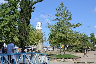 Akçakoca merkezde saat kulesi
