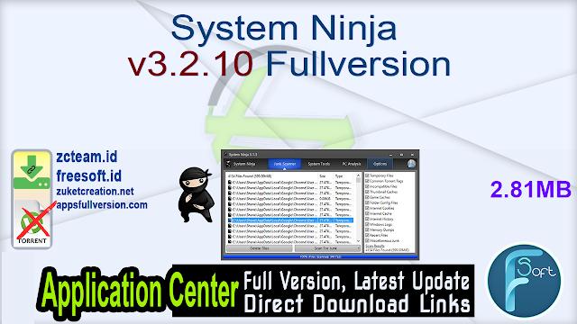 System Ninja v3.2.10 Fullversion