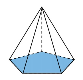 bangun limas segilima kelas 6