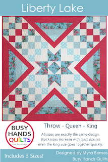 Liberty Lake by Myra Barnes of Busy Hands Quilts