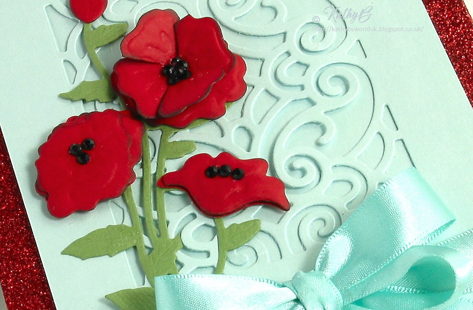 Kathys Waffle Poppies For Remembrance Spellblogger For Spellbinders