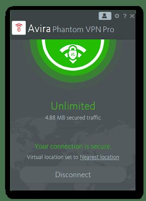 Download Avira Phantom VPN Pro v2.28.4.20821 Cracked (2019) Free Download By Jonaki TelecoM