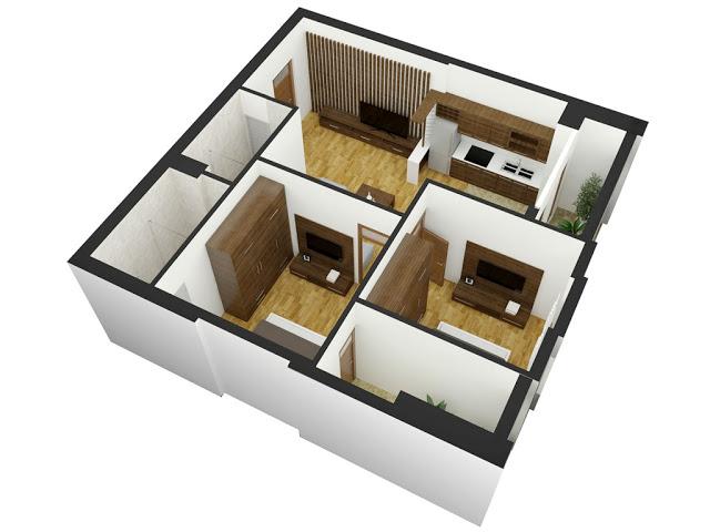 thiết kế chi tiết căn hộ tabudec plaza