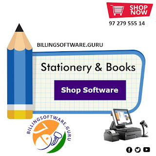 Stationery Business Software for Retail, Wholesale, Books and School Data Management with Billing Barcoding Accounting & Inventory Management
