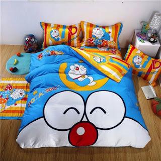 Contoh Seprei Motif Doraemon - Kamar Anak 200165