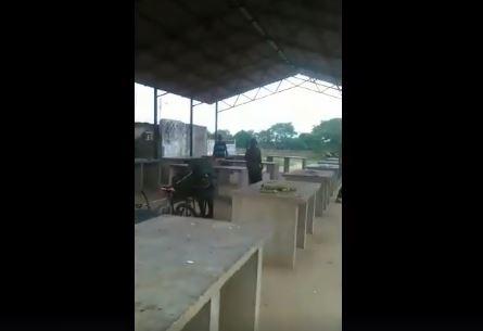 """APURE: Denuncia el mal estado del mercado municipal de Elorza mejor conocido como """"Mamostrete"""". VIDEO."""