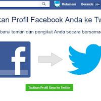 Cara Menghubungkan Akun Facebook dengan Twitter