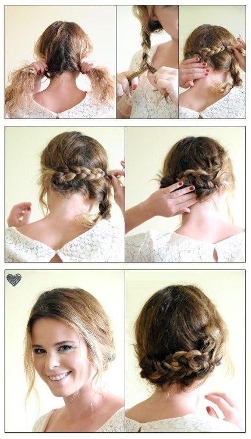 Sientete Siempre Radiante Peinados Rapidos Y Faciles Para