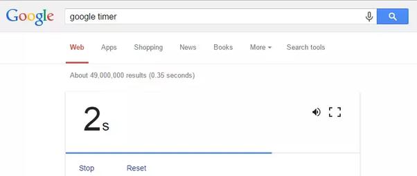 google-timer-google-search-tricks