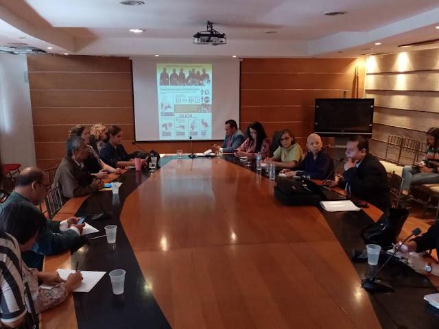 VENEZUELA: FundaRedes consignó en la AN pruebas de actuación de irregulares en escuelas de la frontera.