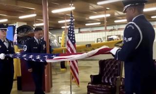 USAF Flag Raising