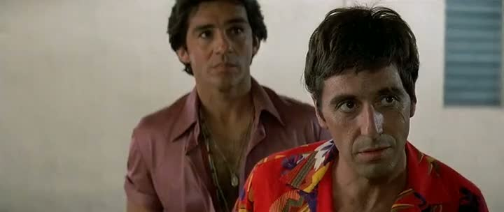 Screen Shot Of Scarface (1983) Dual Audio Movie 300MB small Size PC Movie
