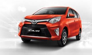 Harga di Pontianak Toyota Calya Orange Metallic