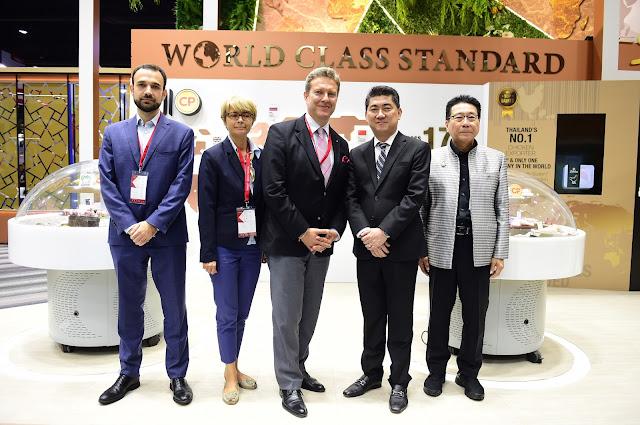 เอกอัครราชทูตโปแลนด์ ชมนวัตกรรมอาหารของซีพีเอฟ ในงาน THAIFEX 2019
