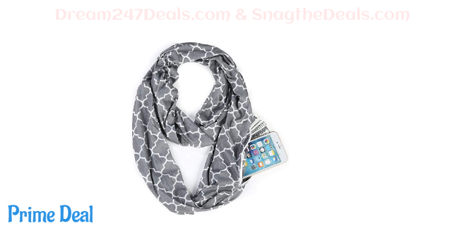 60% off Infinity Scarf with Pockets
