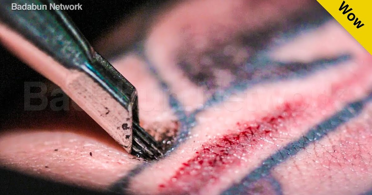 tatuajes cámara lenta proceso tattos arte badabun
