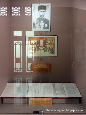 Quan cảnh bộ lễ Triều đình Huế, nơi mà cụ Sắc ra làm quan (1906-1909)