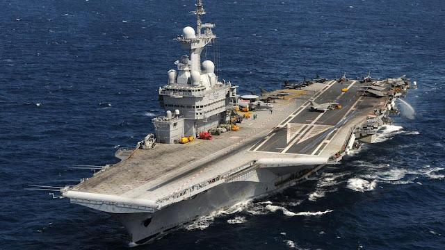 Το αεροπλανοφόρο Σαρλ ντε Γκολ θα υποστηρίξει τις επιχειρήσεις στη Μέση Ανατολή