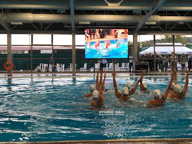 Εύσημα από την Κολυμβητική Ομοσπονδία Ελλάδος για το νέο κολυμβητήριο Άργους