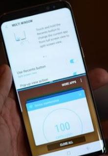 Cara Split Screen Samsung Galaxy A51