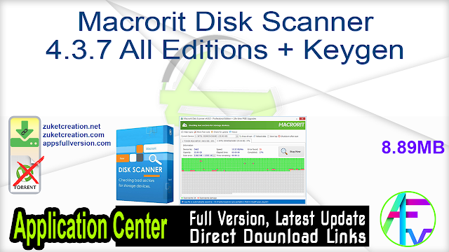 Macrorit Disk Scanner 4.3.7 All Editions + Keygen