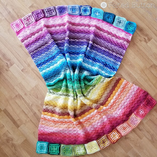 Every Bit a Blanket {Free Crochet Pattern} by Susan Carlson of Felted Button