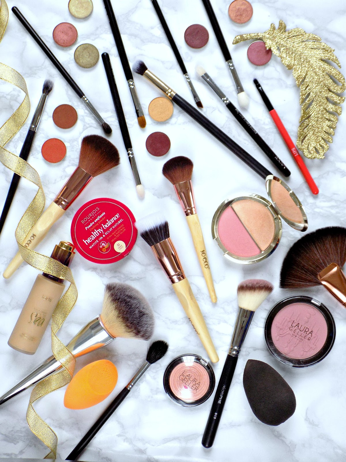 everyday essential eye and face brushes