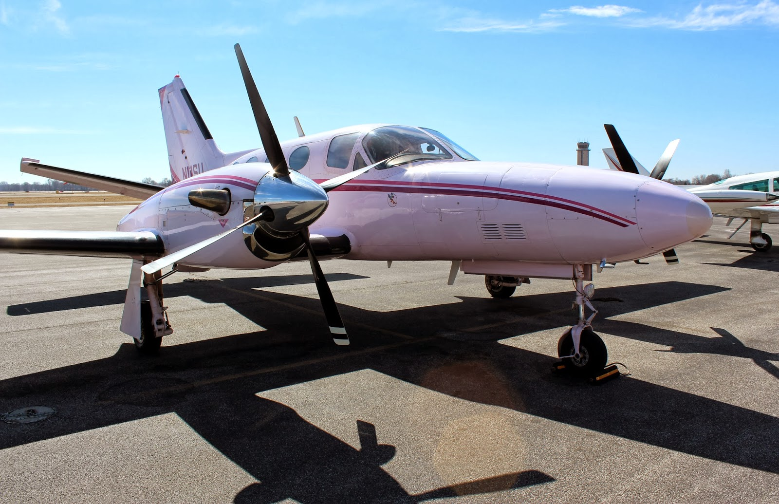 In the Pink: Dazzling Cessna 425 Conquest Keeps Alive Memory of World War  II Women Air Force Service Pilots