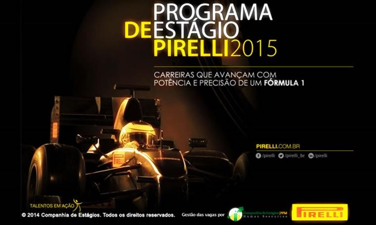 Programa de estágio da Pirelli tem vagas para a Bahia