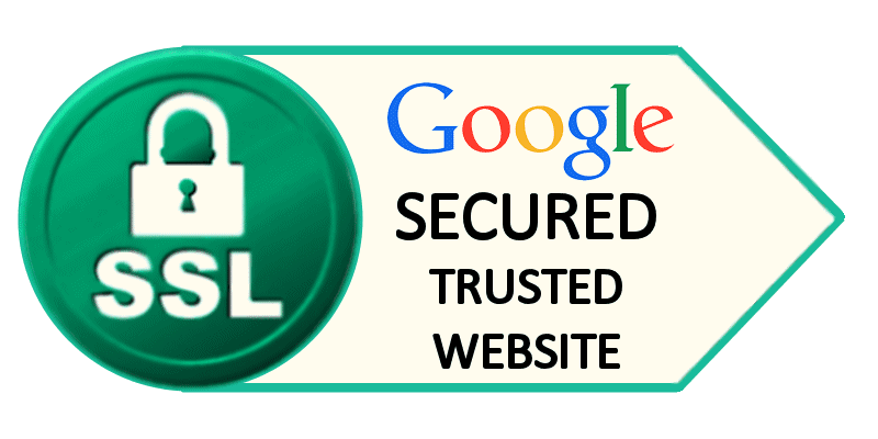 Google Secured Trusted Website