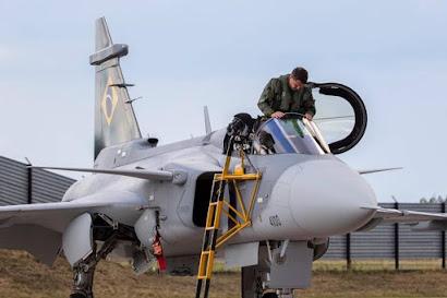 Brzilian pilot Gripen E