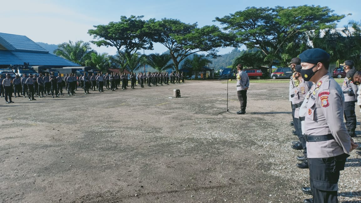 523 Personil TNI Polri Amankan PSU di Morowali Utara