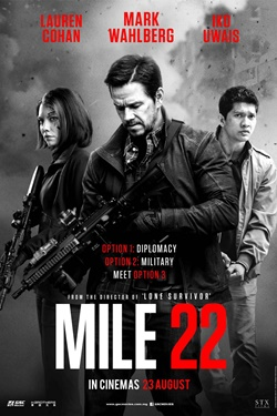 Mile 22 2018 English 720p 800MB WEBRip