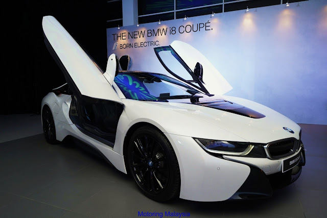 Motoring Malaysia The 2018 Bmw I8 Coupe Has Been Launched In